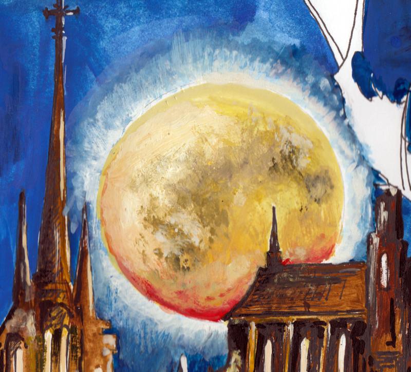 Ein Mond