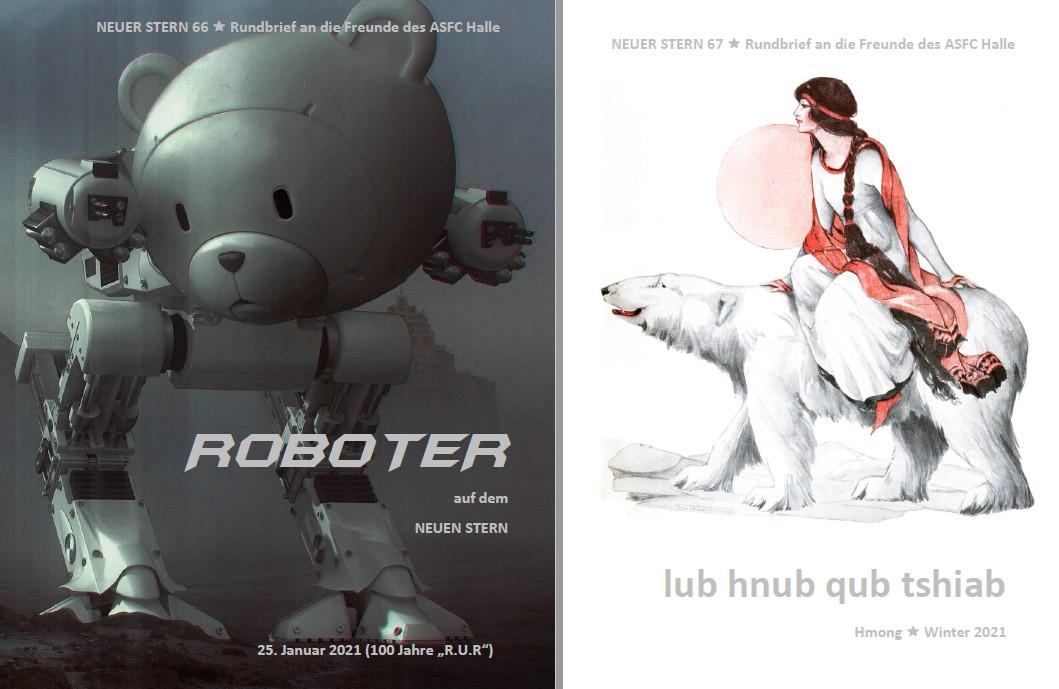 NEUER STERN 66 & 67 - Roboter, Frankenstein & ElsterCon