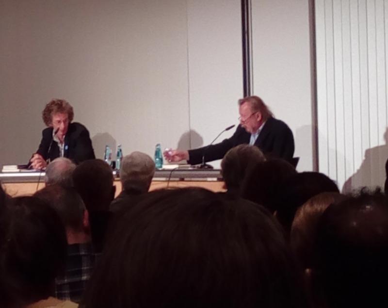 Fast den Anfang vom 21. Leipziger Literaturherbst verpasst.