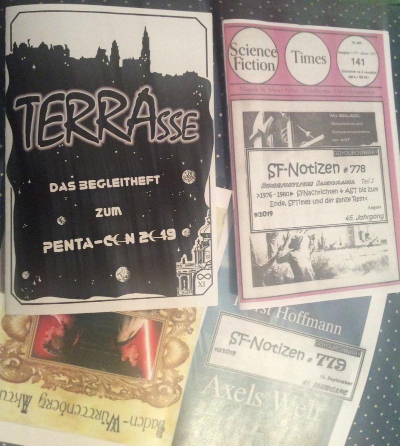 Noch mehr Fanzines