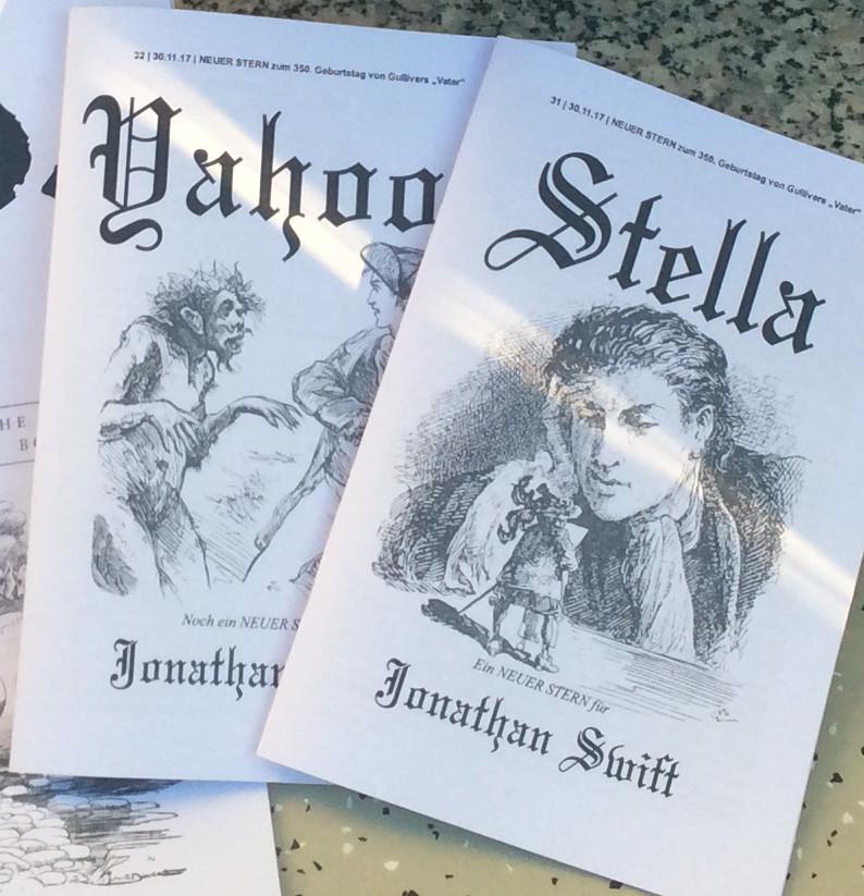 Der NEUE STERN gratuliert Jonathan Swift zum 350.