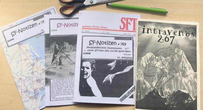 Fanzine-Austausch; hier: Intravenös & SF-Notizen