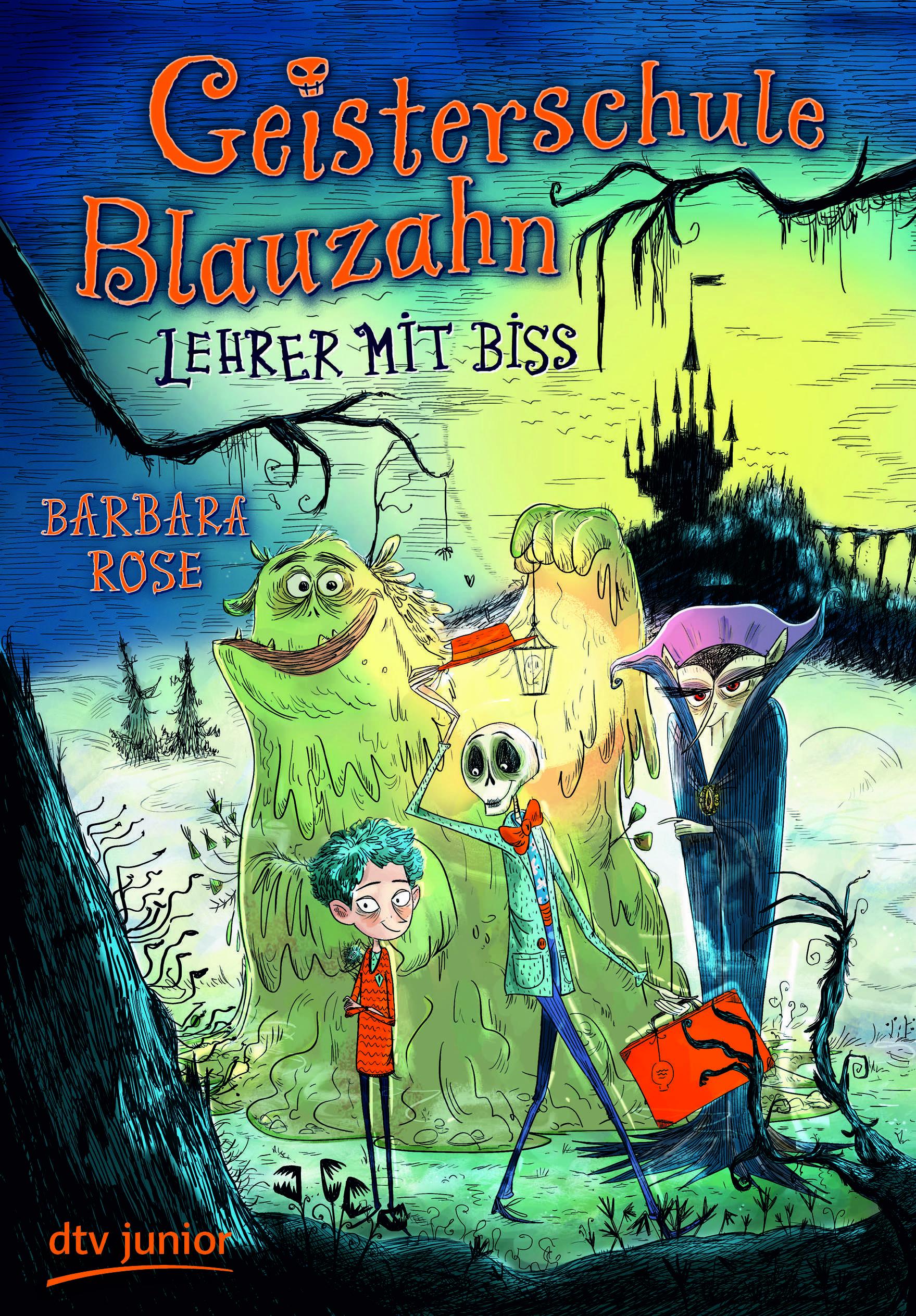 Geisterschule Blauzahn – Lehrer mit Biss (Rezension, #64)