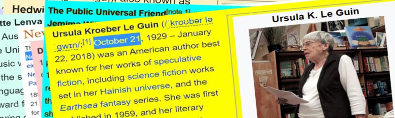 Klare Kante: Ursula Le Guin über Genre-Dünkel (#61)